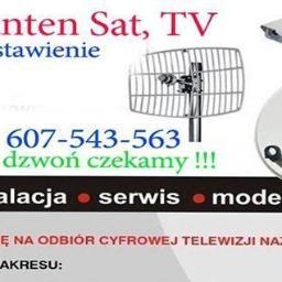Videokom - Montaż Anteny Gołuchów