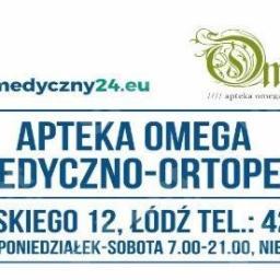 Apteka Omega - sklep medyczny - Sprzęt rehabilitacyjny Łódź