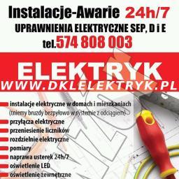DKL ELEKTRYK - Instalacje Ścinawka Średnia