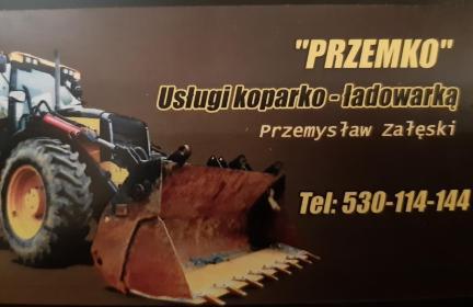 Usługi koparko-ładowarką '' Przemko'' - Kopanie Fundamentów Płońsk