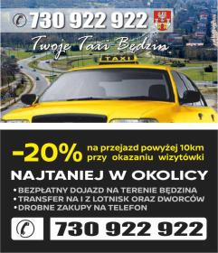 Twoje Taxi Będzin - Przeprowadzki Będzin