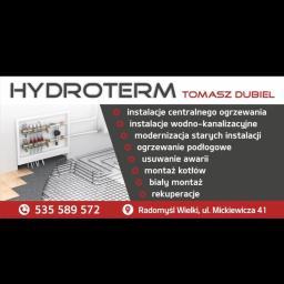 HYDROTERM Tomasz Dubiel - Instalacje gazowe Radomyśl Wielki