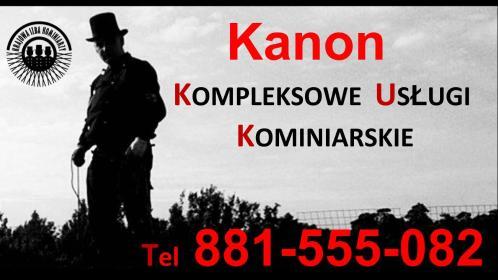 Firma Kanon Usługi Kominiarskie - Chemiczne Czyszczenie Komina Sosnowiec
