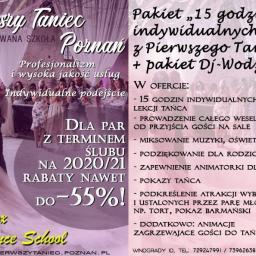 Pierwszy Taniec Pozna艅 Certyfikowana Szko艂a - Organizacja wesel Pozna艅