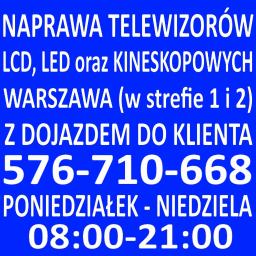 Serwis RTV : Naprawa Telewizorów Warszawa 576710668 - Serwis RTV Warszawa