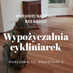 Wypożyczalnia Cykliniarek Warszawa - Wynajem Zaplecza Budowlanego Warszawa
