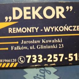 DEKOR remontu-wykończenia - Firma Remontowa Końskie