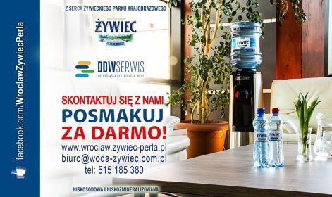 DDW SERWIS GRUPA ŻYWIEC PERŁA - Urządzenia dla firmy i biura Wrocław