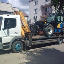 TRANSJAX Transport Ciezarowy HDS - Transport ciężarowy krajowy Białystok