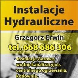 Instalacje hydrauliczne Grzegorz Erwin - Instalacje gazowe Przasnysz