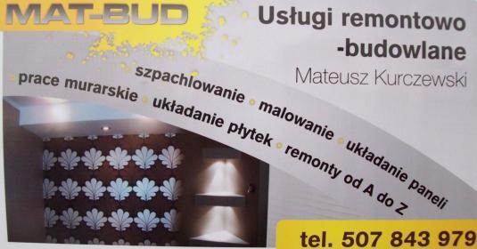 MAT-BUD - Elewacje Osie