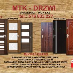 MTK DRZWI - Renowacja Drzwi Gdańsk