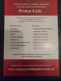 Prokat - Agencje Eventowe Łódź