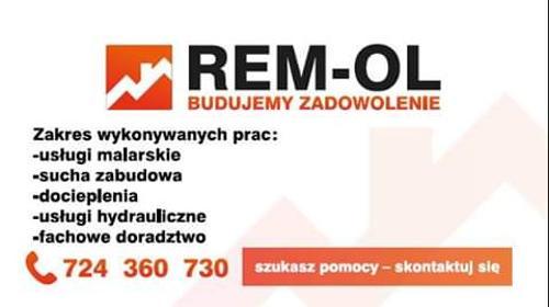 REM OL - Szpachlowanie Starogard Gdański