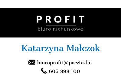 Biuro Rachunkowe PROFIT Katarzyna Małczok - Usługi podatkowe Pogrzebień
