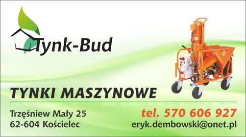 Tynk-Bud Eryk Dembowski - Tynkowanie Kościelec