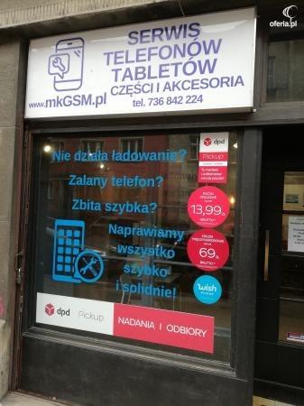 naprawa telefonów kraków galeria krakowska