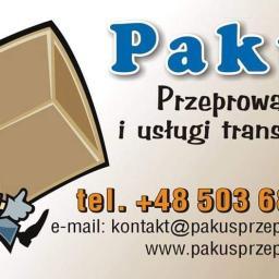 Pakuś Przeprowadzki i Usługi Transportowe - Usługi Przeprowadzkowe Przemyśl