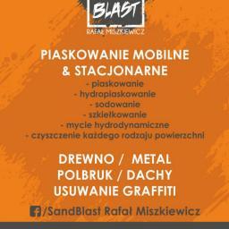 SAND BLAST Rafał Miszkiewicz - Piaskowanie Choszczno