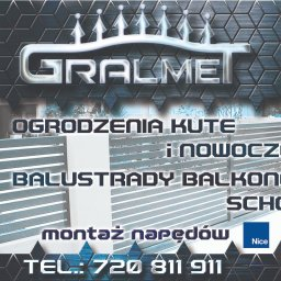 Gralmet - Bramy Wjazdowe Dwuskrzydłowe Gralewo