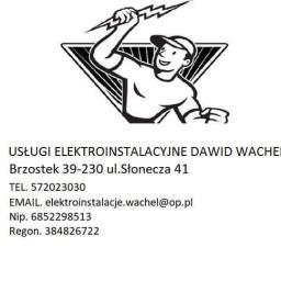 Usługi Elektroinstalacyjne Dawid Wachel - Serwis Alarmów Brzostek