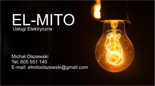 EL-MITO Usługi Elektryczne - Montaż oświetlenia Wyrzysk