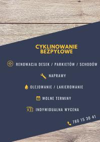 Pan Parkieciarz - Cyklinowanie Lubartów