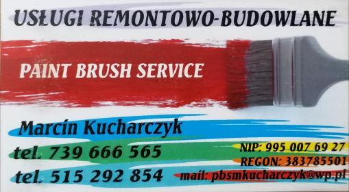 Paint Brush Service - P艂yta karton gips Grodzisk Wielkopolski