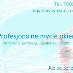 Umyjemy! - Okna Bez Smug Poznań