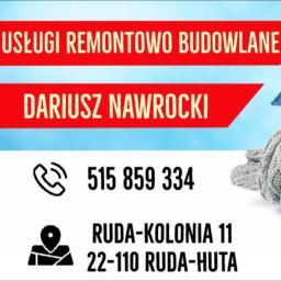 Usługi Remontowo - Budowalne Dariusz Nawrocki - Nowoczesne Elewacje Domów Ruda-Huta
