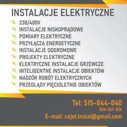 CEJOT-Instal - Elektryk Warszawa
