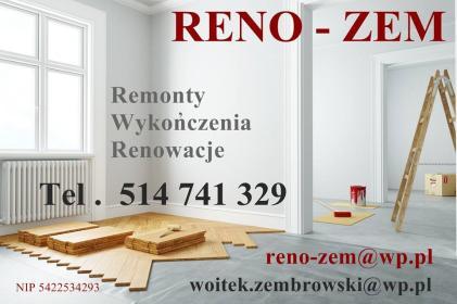RENO-ZEM Wojciech Zembrowski - Meble na wymiar Białystok