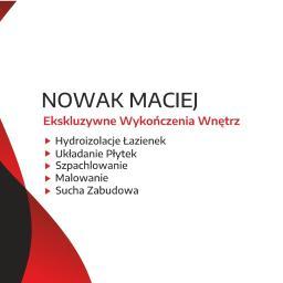 Wykończenia wnętrz i remonty Maciej Nowak - Firma Remontowa Wadowice