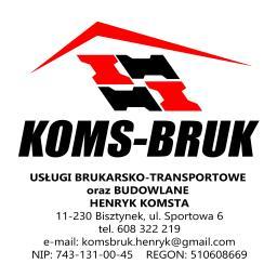 Usługi Brukarsko Transportowe oraz Budowlane HENRYK KOMSTA - Zadaszenie Tarasu Bisztynek
