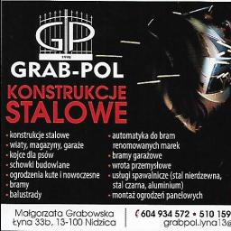 """Zaklad wielobranzowy """"Grab-pol"""" - Siatka ogrodzeniowa Nidzica"""