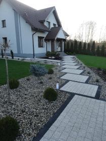 LECH-BRUK LECH MĘDYKOWSKI - Układanie kostki granitowej Ostrów Wielkopolski