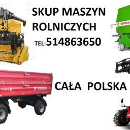 Skup maszyn rolniczych i budowlanych NATA-AUTO - Roboty ziemne Pasłęk