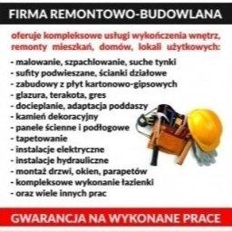 uslugi ogolnobudowlane i elektryczne Rafal Tusinski - Elektryk Dąbrowice