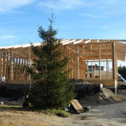 Budowa domu szkieletowego / dom szkieletowy