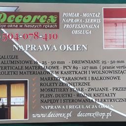 Decorex - Rolety Okienne Warszawa