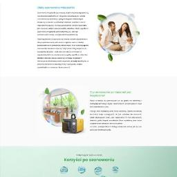 Strona Internetowa dla Ozonowania Pomieszczeń