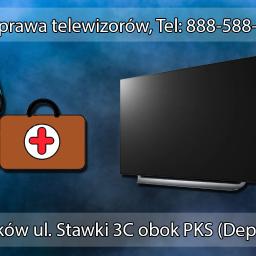 PC KUS Naprawa elektroniki / Usługi informatyczne Naprawa telewizorów Łuków ul. Stawki 3C obok PKS (Deptak) Tel: 888-588-943