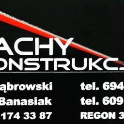 Dachy i konstrukcje Patryk Banasiak, Karol Dąbrowski spółka cywilna - Pokrycia dachowe Zduńska Wola