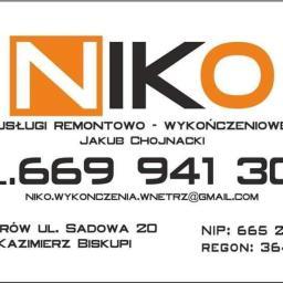 NIKO - P艂yta karton gips W艂adzimirów