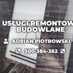 Usługi remontowo-budowlane Adrian Piotrowski - Firma Remontowa Wyszki