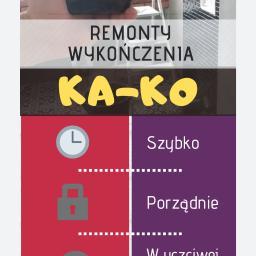Ka-Ko Karol Danielski. - Wykończanie Mieszkań Kraków