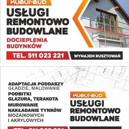 Kubuś-bud - Remont Elewacji Moszczenica