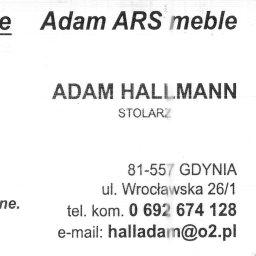 ADAM ARS MEBLE LITE DREWNO RENOWACJE. - Schody Bukowe Gdynia