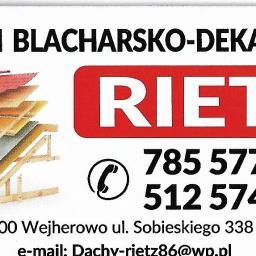 dachy Rietz - Mycie dachów Wejherowo