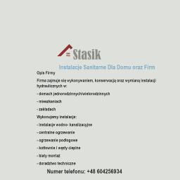 RYSZARD STASIK INSTALACJE SANITARNE - Instalacje sanitarne Kalisz